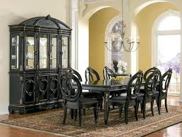 black dining room set black dining room table chatel co