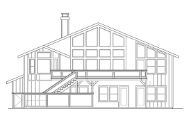 Split Level House Plan Split Level House Plans Sloped Land For Sloping Lot With Attached
