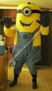 Despicable Minion Costume Coolest Homemade Despicable Minion Costume Birthday Cakes