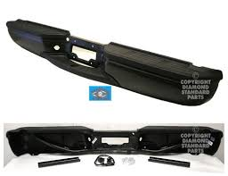 paint to match replacement ford f350 steel rear bumpers diamond std auto parts