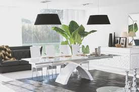 dining room simple black lacquer dining room set nice home