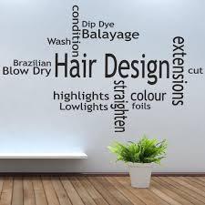 hair salon wall decor wall shelves