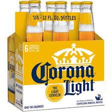 alcohol in corona vs corona light corona light beer 6 pack 12 fl oz walmart com