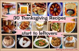 baking in a tornado thirty thanksgiving recipes from start to