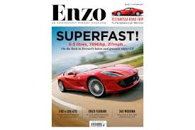 80s ferrari enzo magazine launches u2013 new ferrari quarterly out now evo