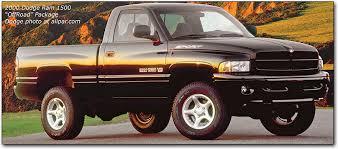 dodge truck package 2000 dodge ram 1500 offroad package mopar trucks
