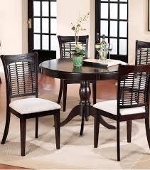 Round Cherry Kitchen Table by 9 Dark Round Dining Tables For A Contemporary Dining Room Cute