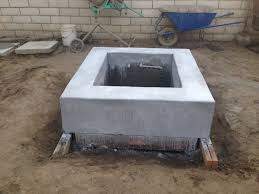 Concrete Firepit Beautiful Poured Concrete Pit Modern Ep46 Concrete