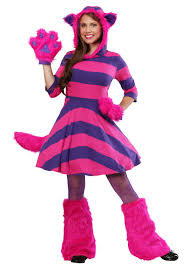 plus size womens costumes cheshire cat plus size costume for women