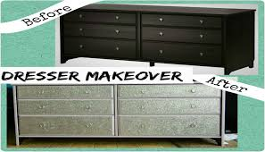 How To Make A Mirrored Nightstand Diy Diy Dresser Makeover With Glitter Ikea Hack Youtube