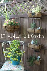 diy vertical herb garden diy vertical herb garden everyday shortcuts