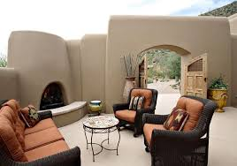 Southwestern Home by Southwest Home Design Patio Southwestern With Concrete Patio