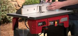 how to use a router table how to safely use a router table tools equipment wonderhowto