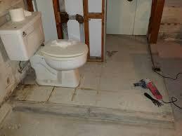 sensational design flooring for basement bathroom how to finish a