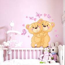 stickers nounours pour chambre bébé stickers ourson chambre bébé livraison en 48h