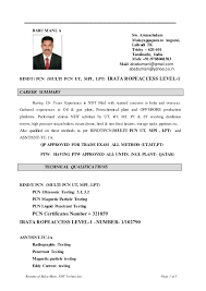 Ndt Technician Resume Example by Ndi Technician Resume Resume Application Process Office Of