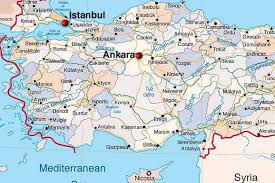 ankara on world map maps of ankara