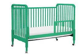 Bella Convertible Crib by Jenny Lind Convertible Crib In Emerald Green By Davinci Baby