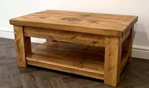wood plank coffee table rustic plank coffee table