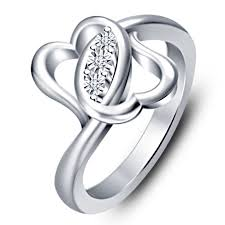 platinum sterling rings images Platinum silver ring buy vorra fashion elegant platinum plated 925 jpg