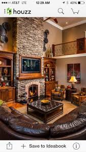 Modern Rustic Living Room Design Ideas White Wash Fireplace Decor Making Our New House Our Home