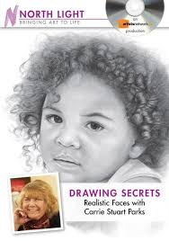 video download drawing secrets realistic faces with carrie