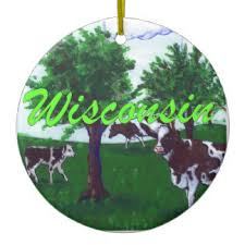 wisconsin ornaments keepsake ornaments zazzle