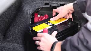 easy toyota camry hybrid 12v battery replacement youtube