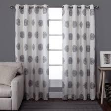 amazon com exclusive home curtains sedgewick linen grommet top