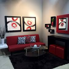 Black Furniture Living Room You Had Me At Grey Black Furniture Red Accents And Bedrooms