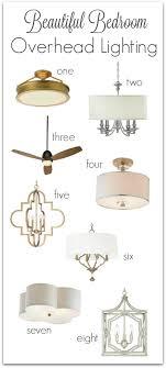 Bedroom Overhead Lighting Bedroom Lighting Guide Some Favorite Fixtures Driven By Decor