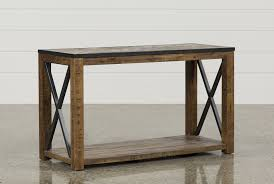 Iron Sofa Table by Tillman Sofa Table Living Spaces