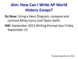 DBQ Elements AP World History  Working from the Rubric    AP World