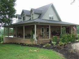 ranch house plans with wrap around porch awesome 45 brick home