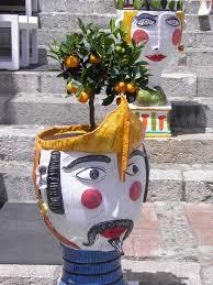 free images monument statue orange italy flower pot
