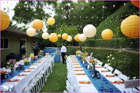 Outdoor Party Decoration Ideas Great Outdoor Wedding Decoration Ideas Diy Simple Outdoor Wedding
