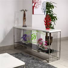 brushed stainless steel console table hotel furniture console table light brushed stainless steel plus