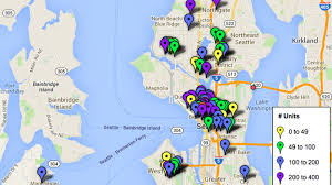 Seattle Ferry Map by Mapping Seattle U0027s 11 138 Upcoming Apartments U0026 Condos Curbed Seattle