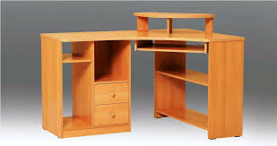 All Wood Computer Desk Solid Wood Corner Computer Desk Modern Wooden Corner Desk