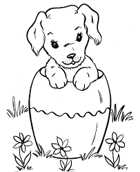 cute puppy dog coloring page coloring book pictures