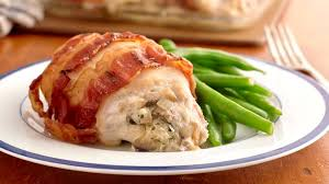 Bacon In Toaster Cheese Stuffed Bacon Wrapped Chicken Recipe Pillsbury Com