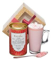 hot chocolate gift set strawberry hot chocolate gift set martin s chocolatier