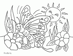 spring break coloring pages kids coloring