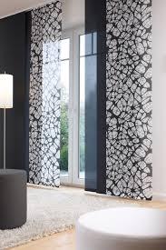 Schiebevorhange Wohnzimmer Modern Schiebevorhänge Grau Hause Deko Ideen