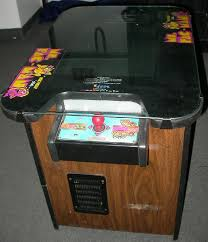 Pacman Game Table by Ms Pacman Cocktail Video Arcade Machine