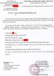 vietnam visa for china citizens chinese passport holders