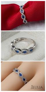 wedding ban the stolen band with diamonds and blue sapphires this wedding
