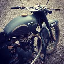 royal enfield bullet for army indian vintage vehicules