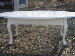 cherry end tables queen anne i searched high and low for an oval coffee table romantic and queen