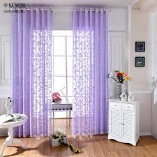 online get cheap purple sheer curtains aliexpress com alibaba group